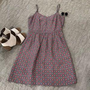 EUC J CREW dress with pockets!